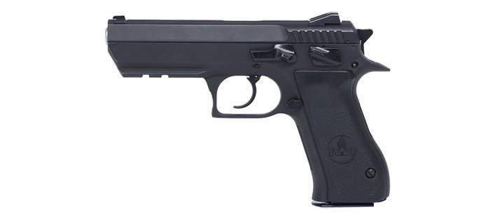 Steel F pistol